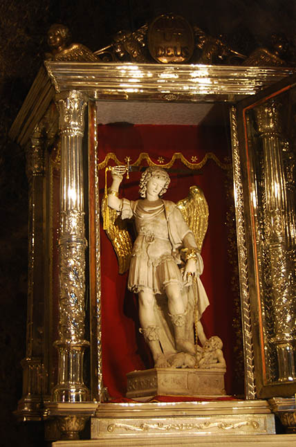 Statue of St Michael